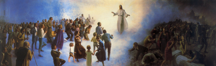 Second Coming of Jesus Christ by Harry Anderson, DC Temple Visitors Center Mural
