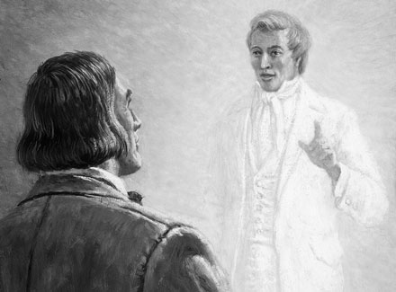 Joseph Smith Appears to Brigham Young