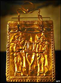 Etruscan Book Written On Gold Plates in 600 B.C.