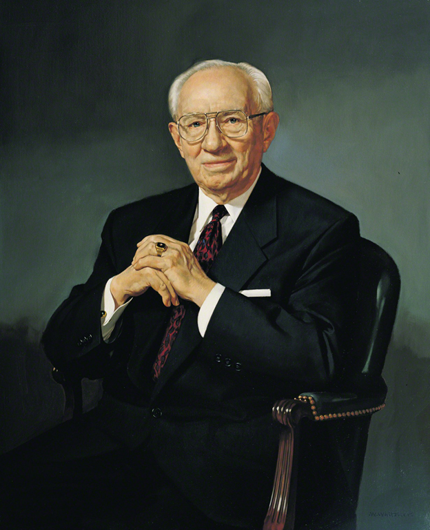 President Gordon B. Hinckley, 15th President of The Church of Jesus Christ of Latter-day Saints