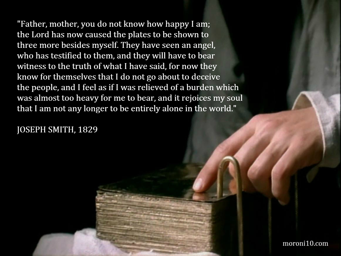 Joseph Smith and the Golden Plates