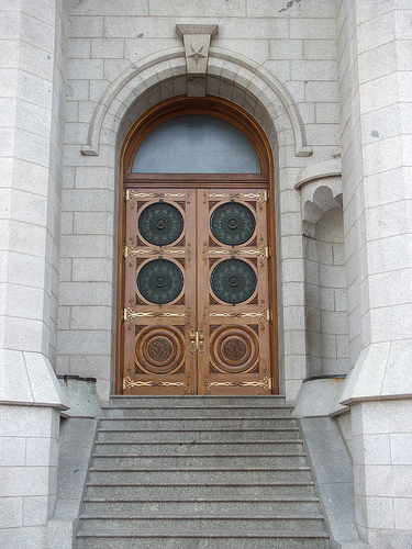 Meanings Of The Symbols On The Doors On The Salt Lake Temple