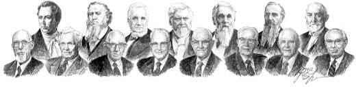 LDS Prophets Collage