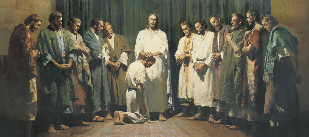 Christ Ordaining the Apostles, by Harry Anderson